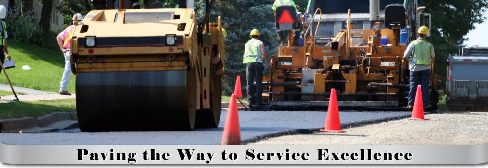 Paving the Way to Service Excellence, paving equipment